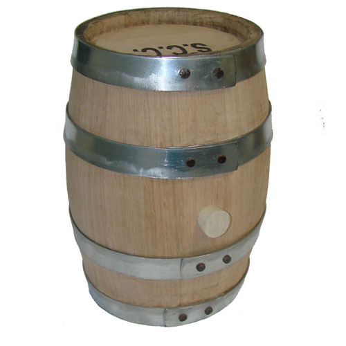 1 Gallon Charred Oak Barrel