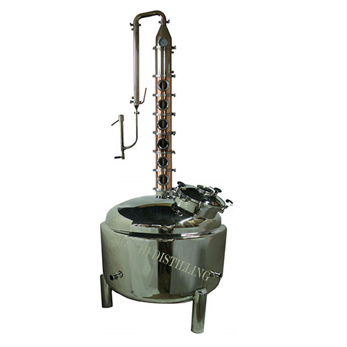 135 Gallon Copper 6 Inch Diameter Mile Hi Flute 6 Sections