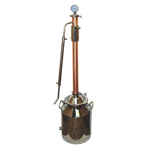 Inch diameter copper flange ferrule mile hi distilling