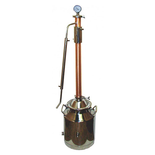 2 Inch Copper Dual Purpose Tower 8 Gallon Milk Can