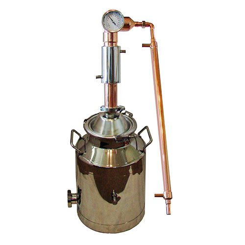 2 Inch Copper Pot Reflux Tower