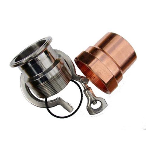 2 Inch Diameter Copper Pipe To Keg Kit