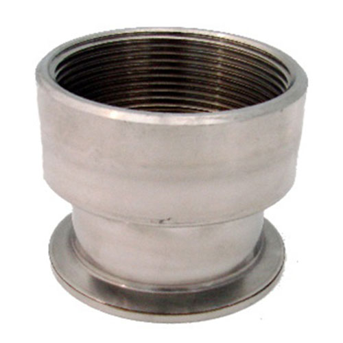 2 Inch Diameter Female NPT to Stainless Ferrule