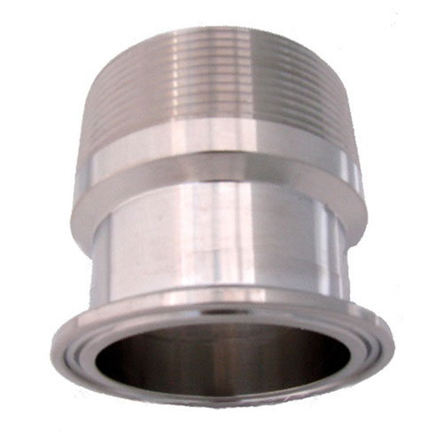 Inch diameter male npt to stainless ferrule mile hi