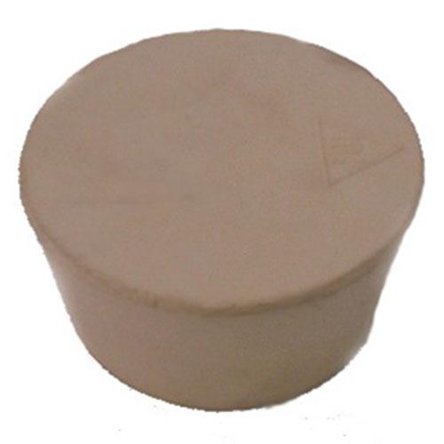 2 Inch Pure Tan Gum Rubber Bung