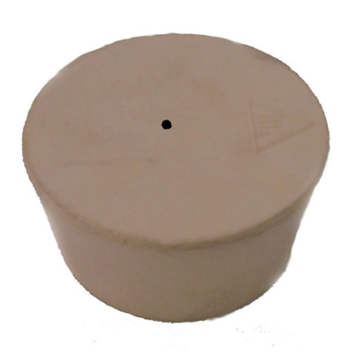 2 Inch Tan Gum Rubber Bung Pre-Drilled