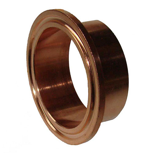 Inch diameter copper flange ferrule mile hi distilling