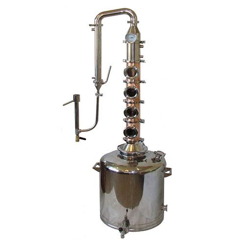 "26 Gallon Copper, 4"" Diameter 4 Section Flute"