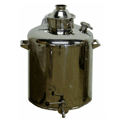 26 Gallon Heavy Duty Milk Can with 4 Inch Dome Lid and Clamp