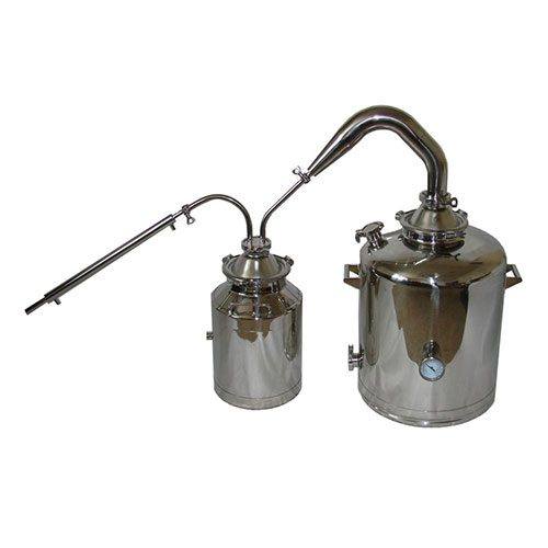 26 Gallon with 3 Inch Traditional Pot Still With Thumper