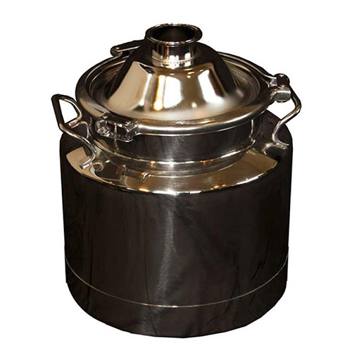 3 Gallon Heavy Duty Milk Can with 2 Inch Dome