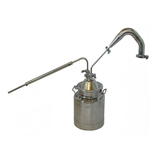 3 Gallon Thumper with Condenser and 2 Inch Traditional Pot Still Tower