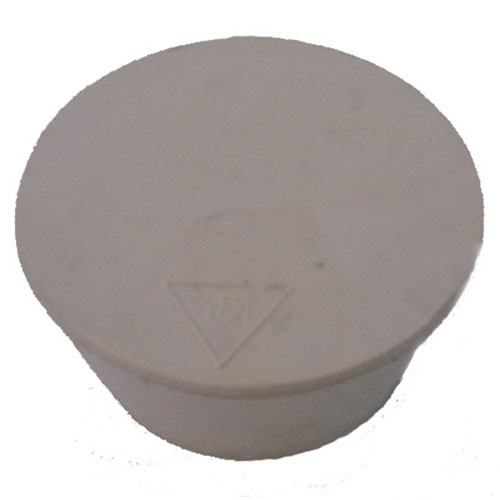 3 Inch Pure Tan Gum Rubber Bung