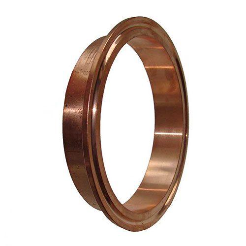 4 inch Diameter Copper Flange