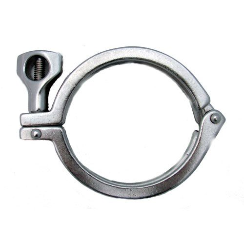 4 inch Diameter Stainless Steel Clamp