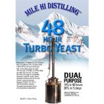 Mile Hi Distilling 48-HOUR TURBO YEAST WITH AG (PACK OF 25)