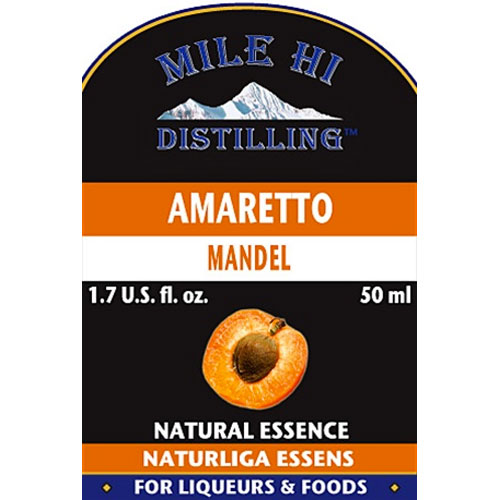 Mile Hi Amaretto Liqueur Essence (50ml)