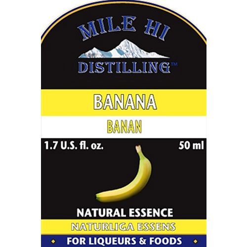 Mile Hi Banana Essence (50ml)