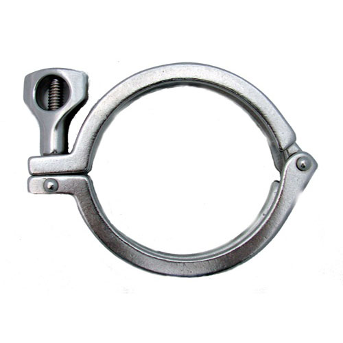 6 inch Diameter Stainless Steel Clamp