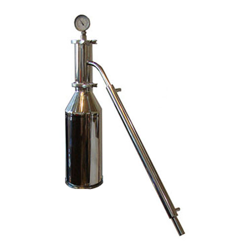 Essential Oil Distiller Extractor with Large Essential Oil Basket Tower Only