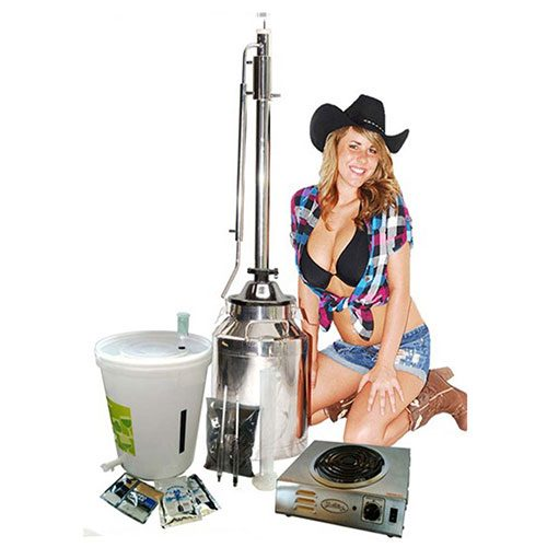 8 Gallon with 2 Inch Dual Purpose Tower Complete Kit