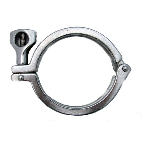 8 inch Diameter Stainless Steel Clamp