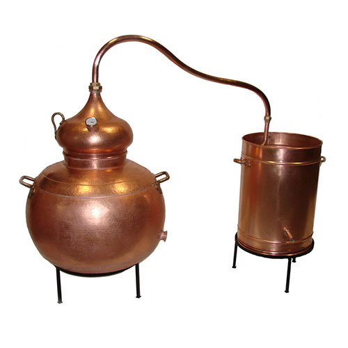 Alembic Copper Still 53 Gallon 200 Liter