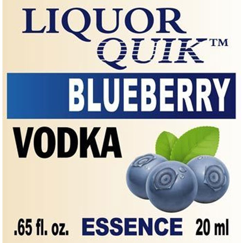 Liquor Quik Blueberry Vodka Essence 500ml