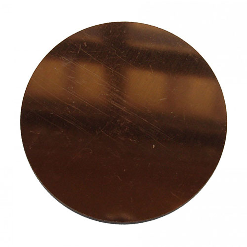 Copper Plate 4 Inch Diameter