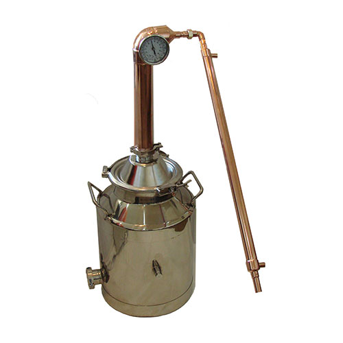 Copper Pot Still 8 Gallon Boiler