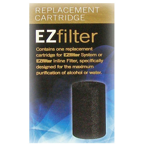 EZ Filter Carbon Cartridge Replacement Filters 10 PACK