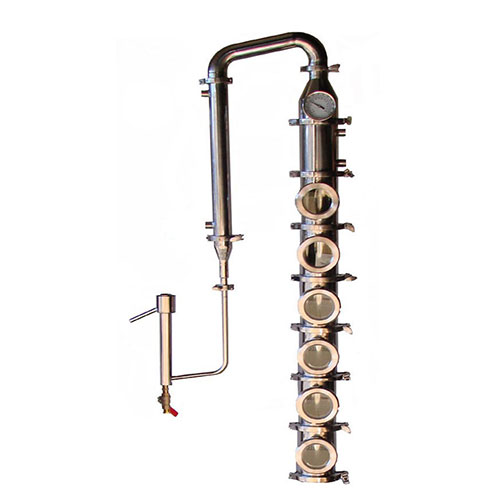 Stainless 4 Inch Diameter Mile Hi Flute - 6 Sections