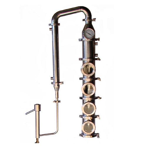 Stainless 4 Inch Diameter Mile Hi Flute