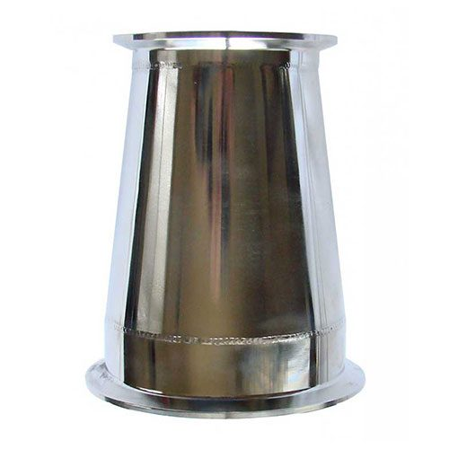 Stainless Steel 4 Inch to 3 Inch Reducer