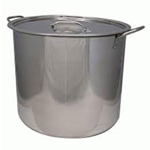 Stainless Stock Pot or Brew Pot 8 Gallon