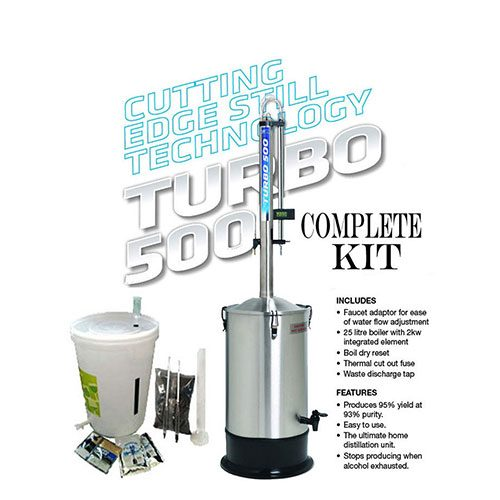 Turbo 500 Distillation Kit