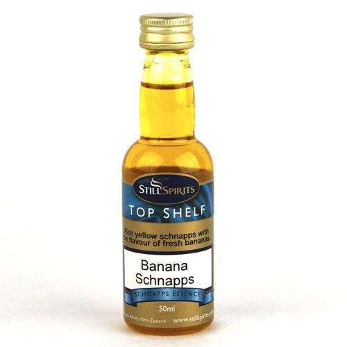 Banana Schnapps Essence -Top Shelf (50ml)