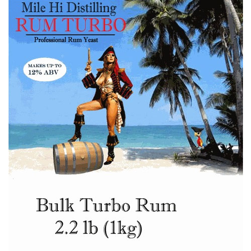 Mile Hi Distilling bulk rum yeast