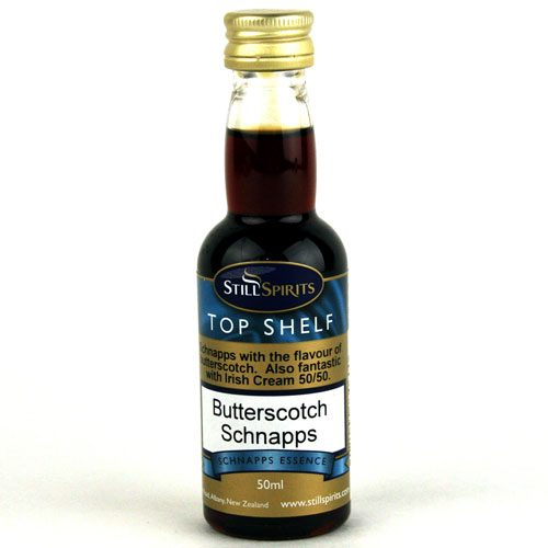 Butterscotch Schnapps Essence - Top Shelf (50ml)