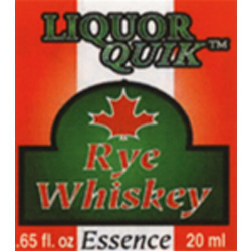 Liquor Quik Canadian Rye Whiskey Essence 500ml