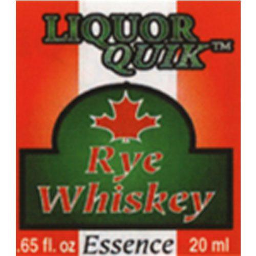 Canadian Rye Whiskey Essence - Liquor Quik (20ml)