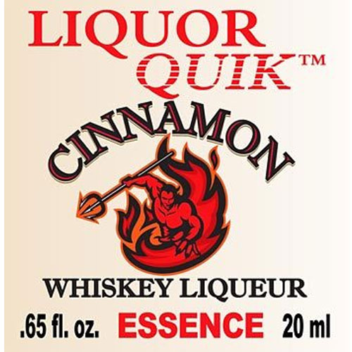 Liquor Quik Cinnamon Whiskey Essence BULK