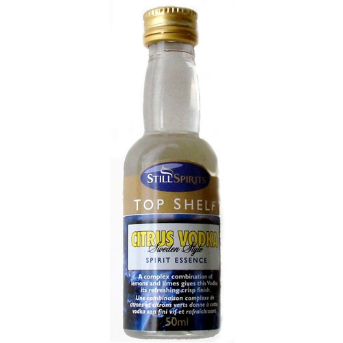 Citrus Vodka Essence - Top Shelf (50ml)