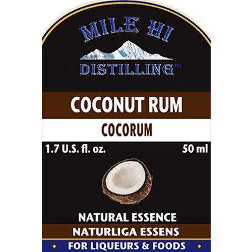 Mile Hi Coconut Rum Essence (50ml)