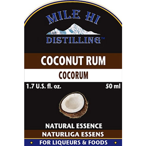 Mile Hi Coconut Rum Essence (50ml)