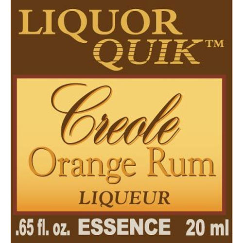 Creole Orange Rum Essence - Liquor Quik (20ml)