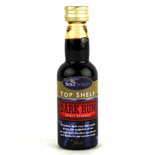 dark rum essence top shelf 50ml top quality mile hi distilling. Black Bedroom Furniture Sets. Home Design Ideas