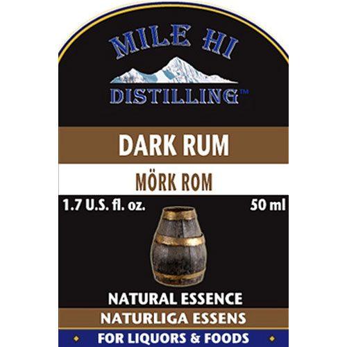Mile Hi Dark Rum Essence (50ml)