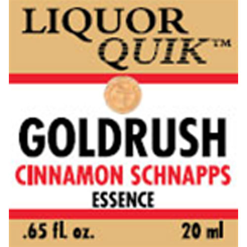 Goldrush Cinnamon Schnapps Essence - Liquor Quik (20ml)