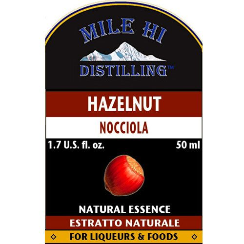 Mile Hi Hazelnut Liqueur Essence (50ml)